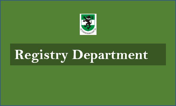 Registry Department